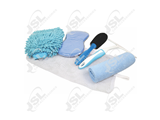 J055058 5PC Blue Cleaning Kit in Mesh Bag