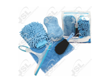 J055097 5PC Microfiber Complete Car Cleaning Kit